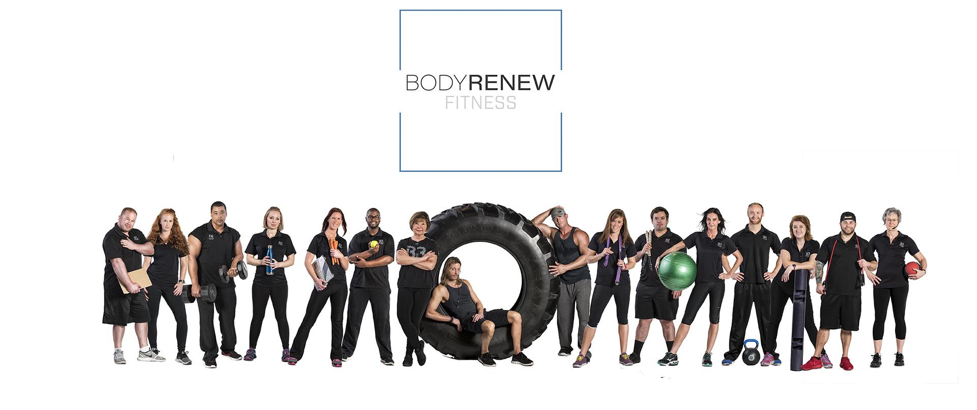 Fitness Team Group Portrait