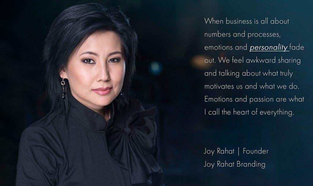 Joy Rahat founder Joy Rahat Branding