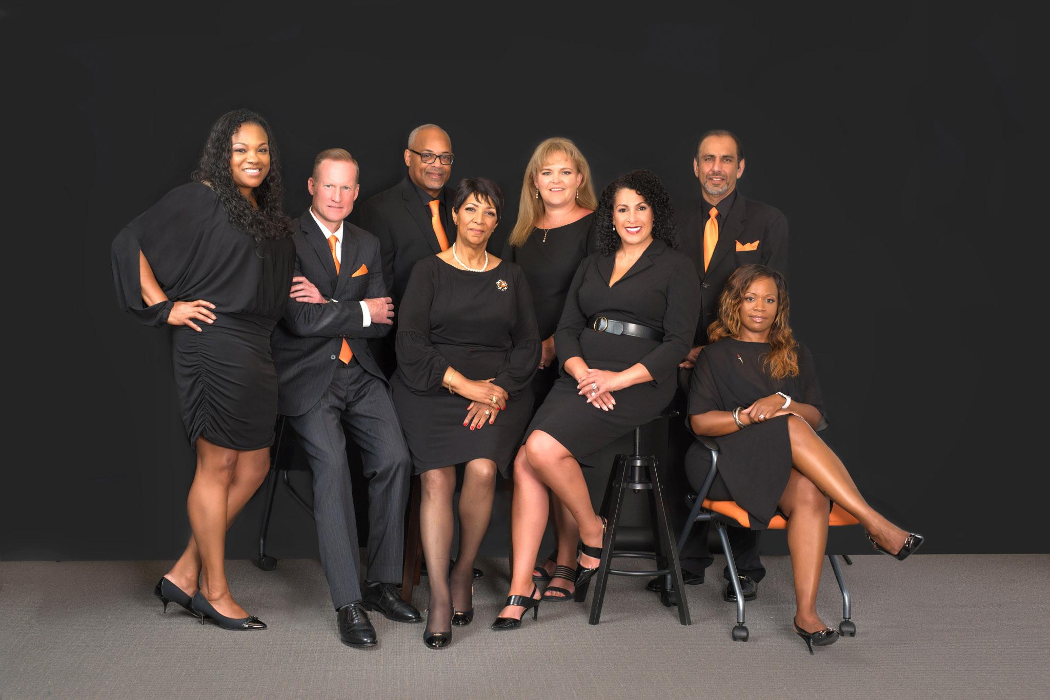 Executive Team Group Portraits