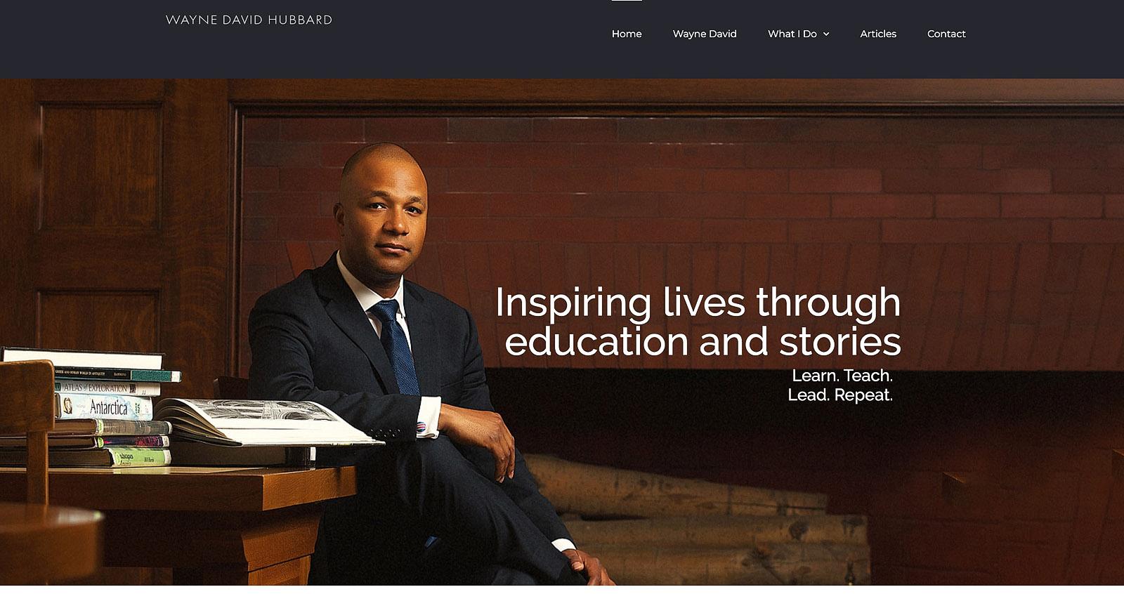 Website for men of color